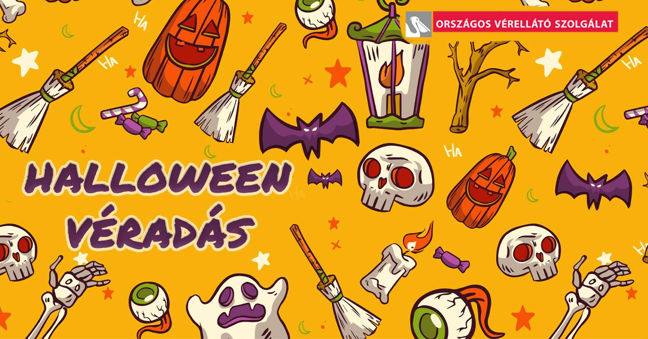 Halloween véradás