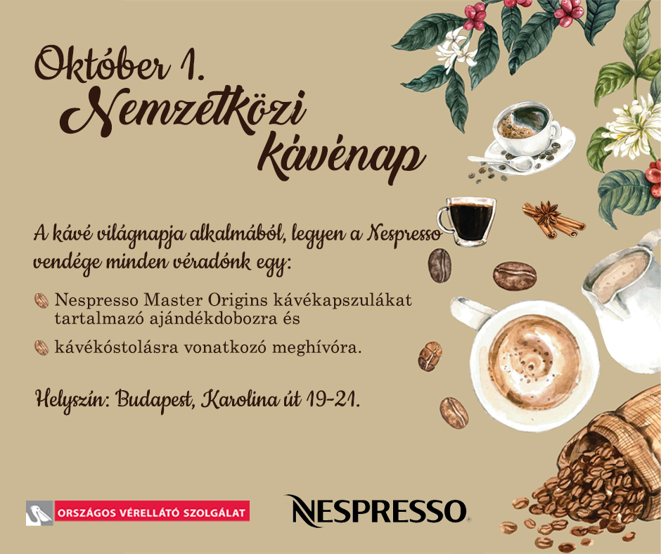 Kávézzon velünk!