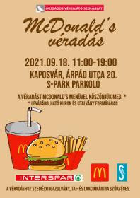 McDonald's véradás
